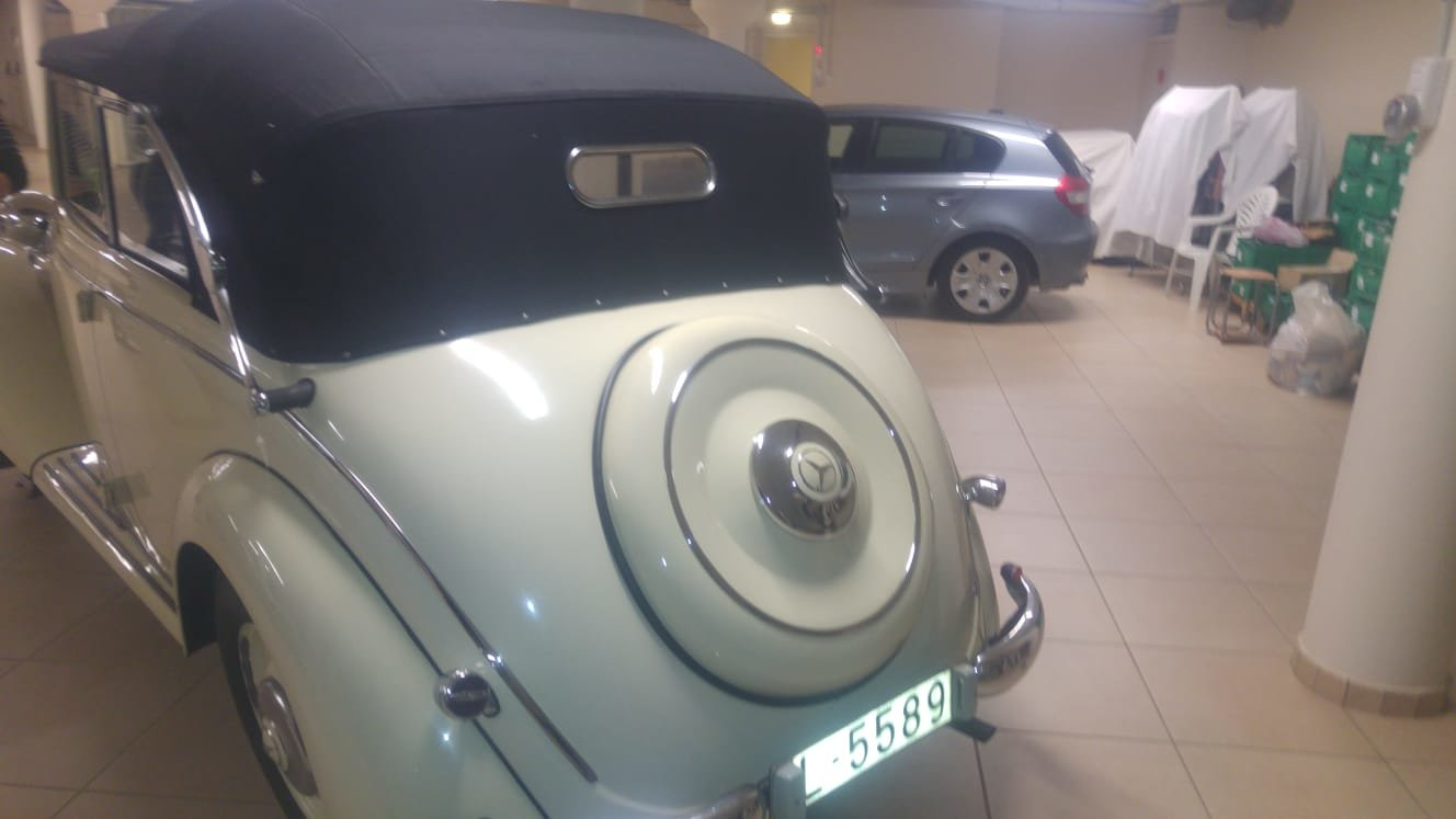 1936 Mercedes W136 v170 cabriolet b For Sale (picture 3 of 6)