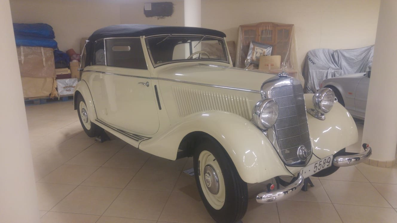 1936 Mercedes W136 v170 cabriolet b For Sale (picture 4 of 6)