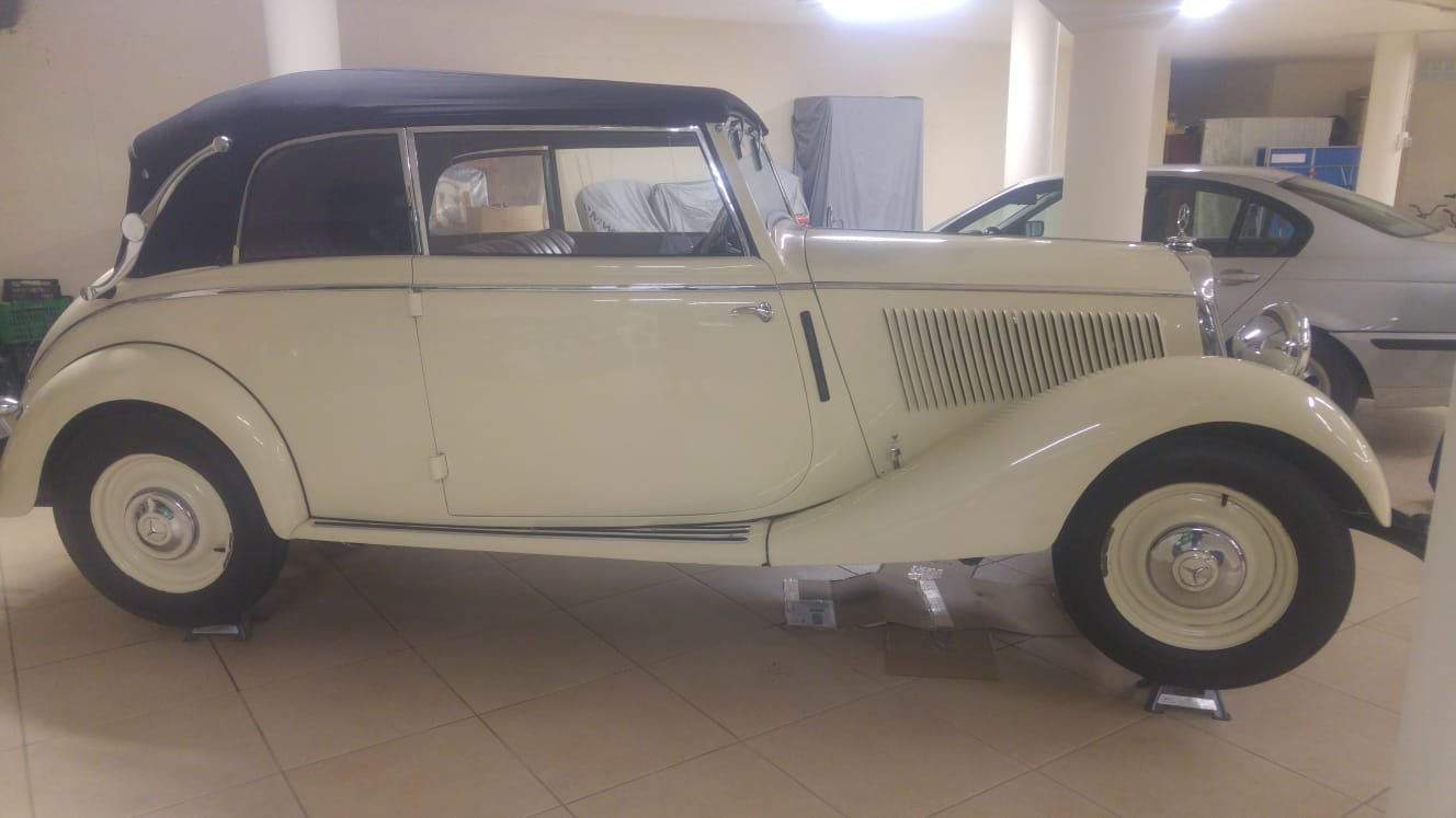 1936 Mercedes W136 v170 cabriolet b For Sale (picture 5 of 6)