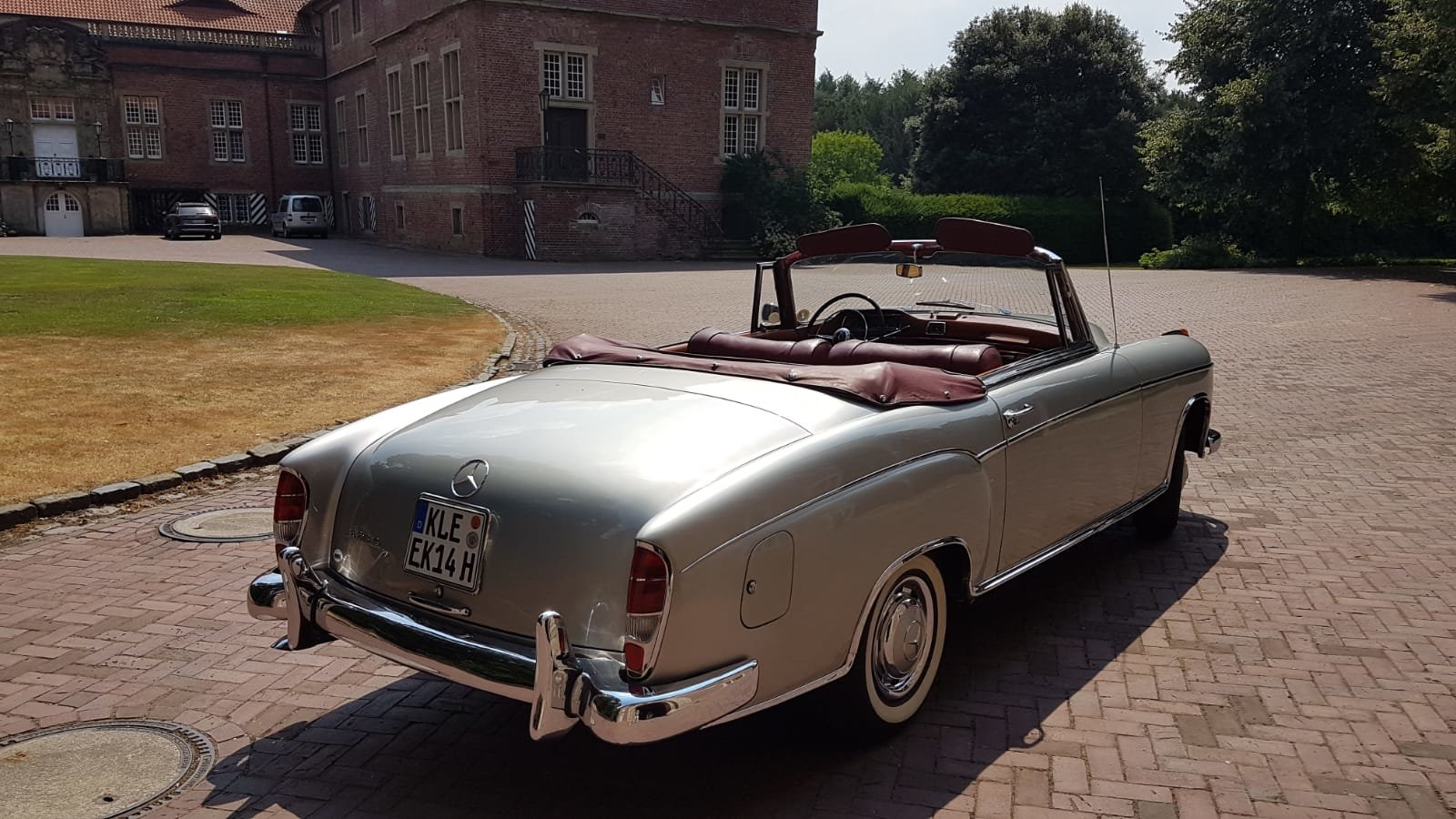 1958 Mercedes 220S convertible in excellent condition For Sale (picture 4 of 6)