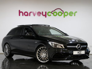 MERCEDES BENZ CLA45 AMG SHOOTING BRAKE