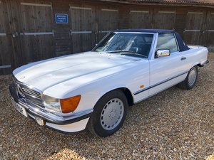 1986 Mercedes 500 SL ( 107-series )