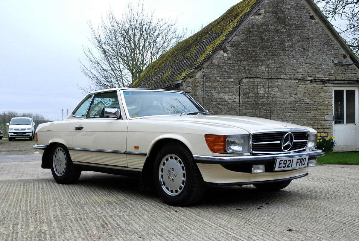 1987 Mercedes SL 500 V5  For Sale (picture 1 of 6)
