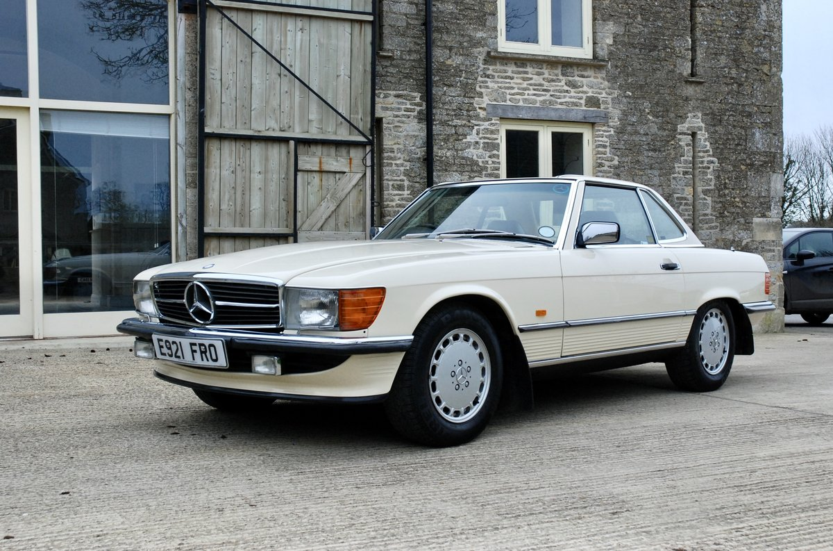 1987 Mercedes SL 500 V5  For Sale (picture 2 of 6)