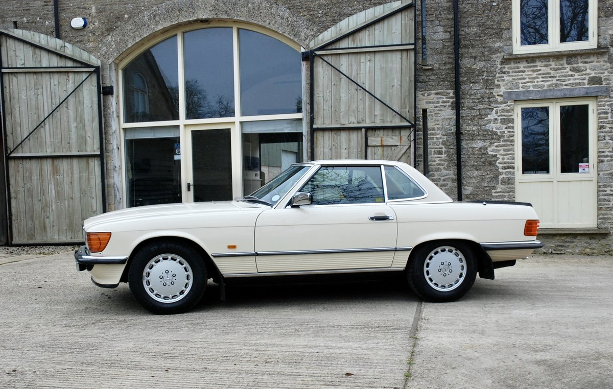 1987 Mercedes SL 500 V5  For Sale (picture 3 of 6)