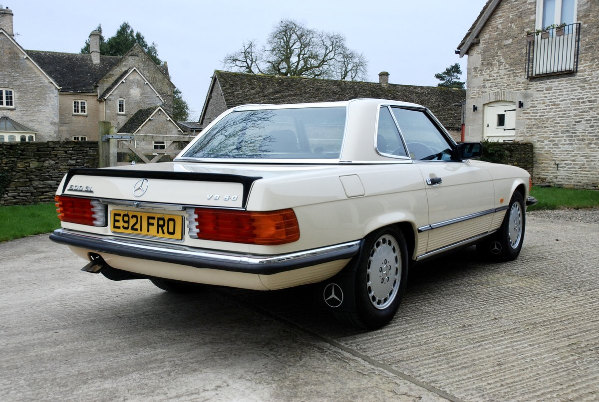 1987 Mercedes SL 500 V5  For Sale (picture 4 of 6)