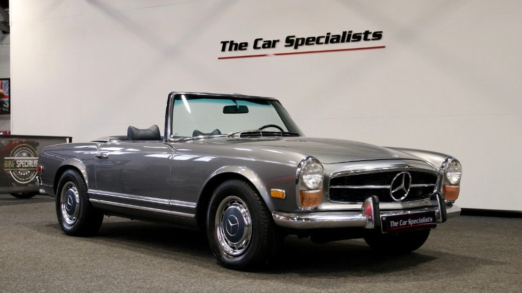 1970 Mercedes 280SL PAGODA (W113) LHD LOW MILEAGE For Sale (picture 1 of 6)