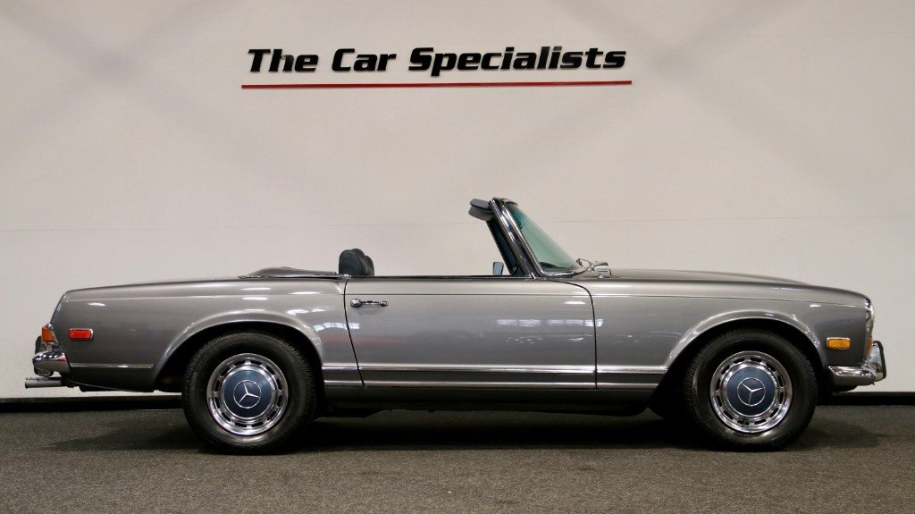 1970 Mercedes 280SL PAGODA (W113) LHD LOW MILEAGE For Sale (picture 2 of 6)