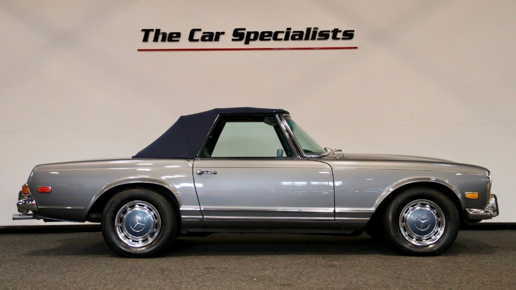 1970 Mercedes 280SL PAGODA (W113) LHD LOW MILEAGE For Sale (picture 3 of 6)