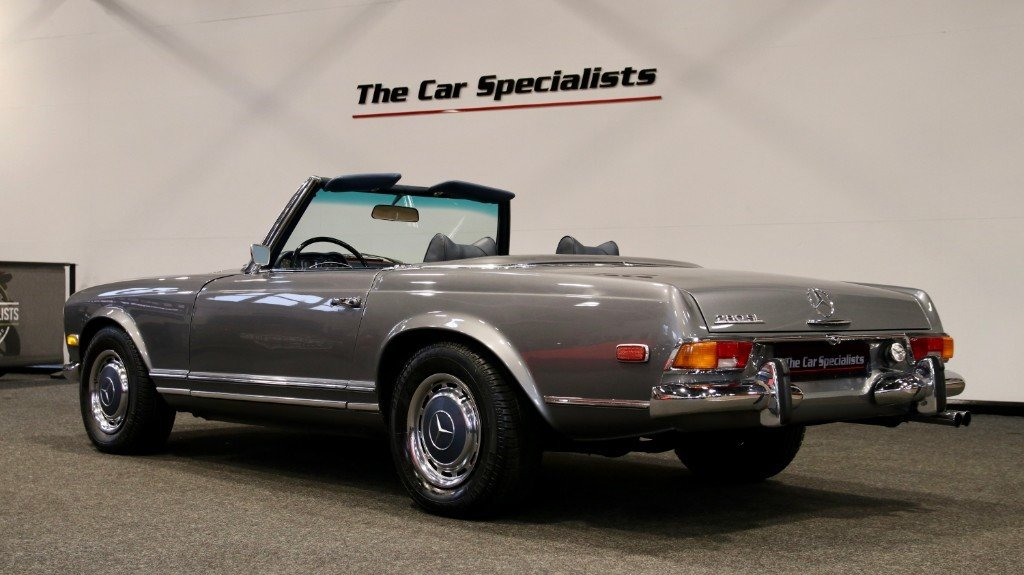 1970 Mercedes 280SL PAGODA (W113) LHD LOW MILEAGE For Sale (picture 6 of 6)