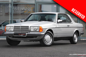 1980 RESERVED - Mercedes Benz 280 CE (C123) auto SOLD