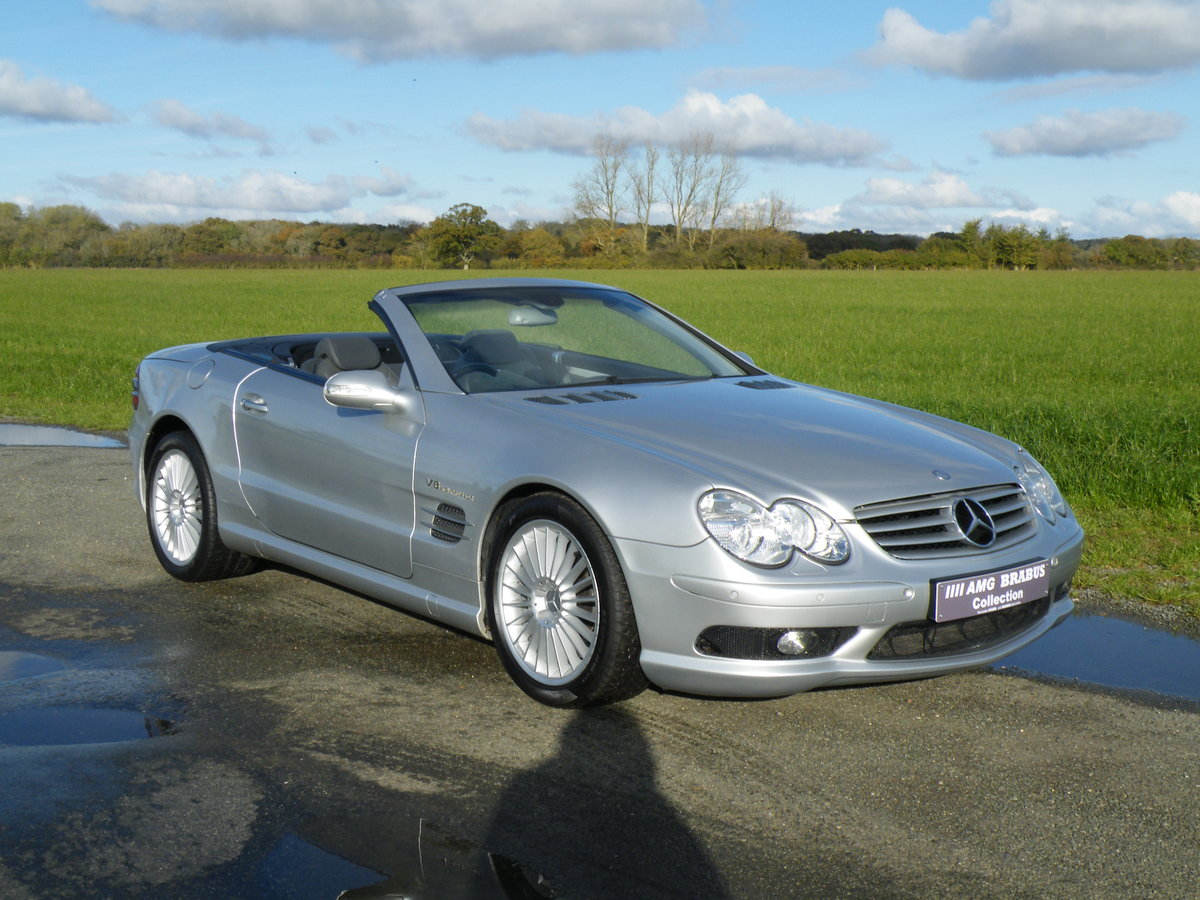 2003 Mercedes SL 55 AMG For Sale (picture 1 of 6)