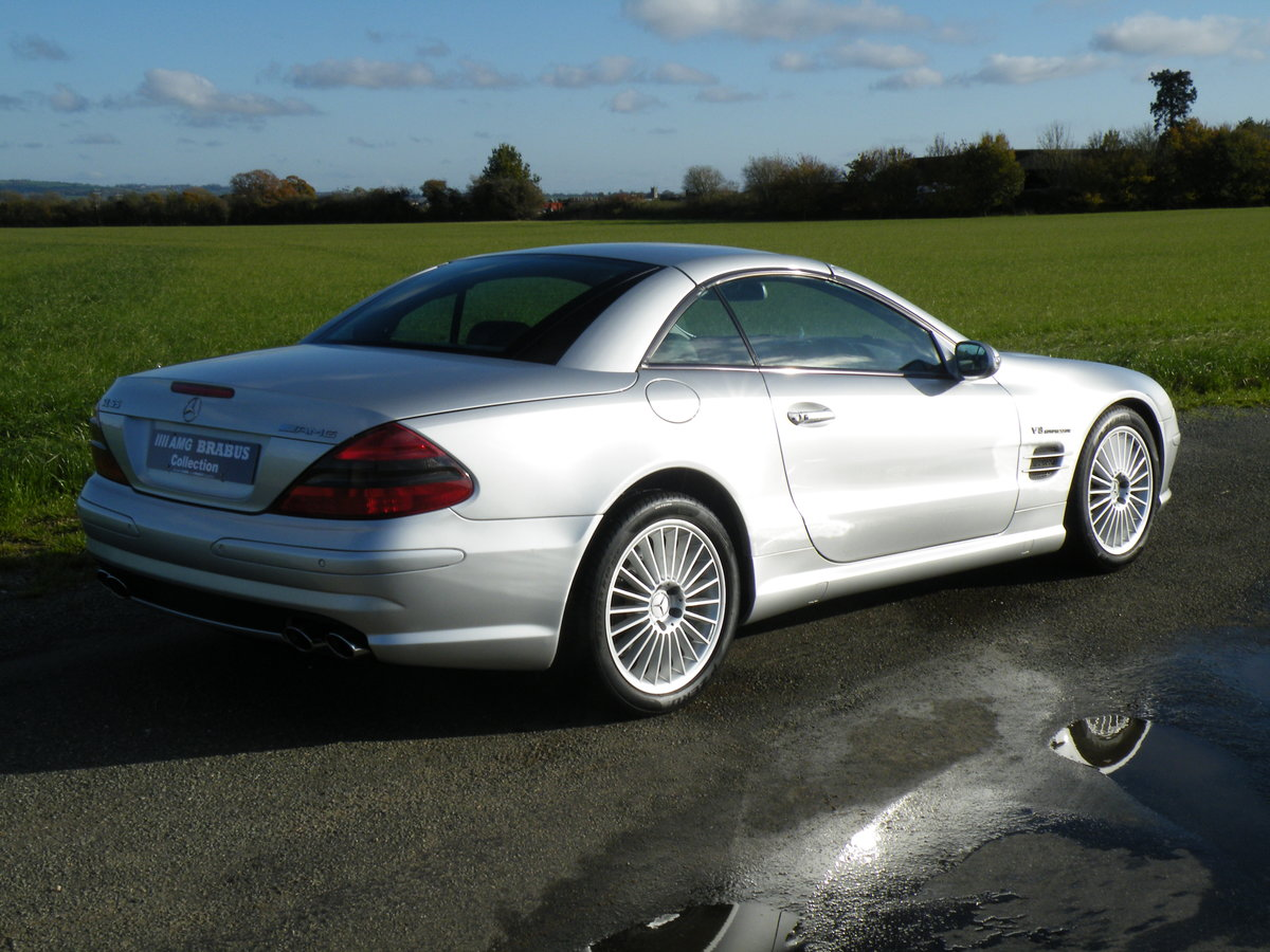 2003 Mercedes SL 55 AMG For Sale (picture 4 of 6)
