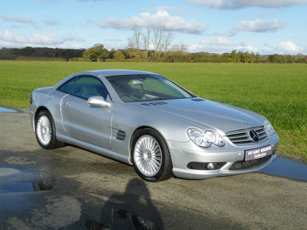 2003 Mercedes SL 55 AMG For Sale (picture 5 of 6)