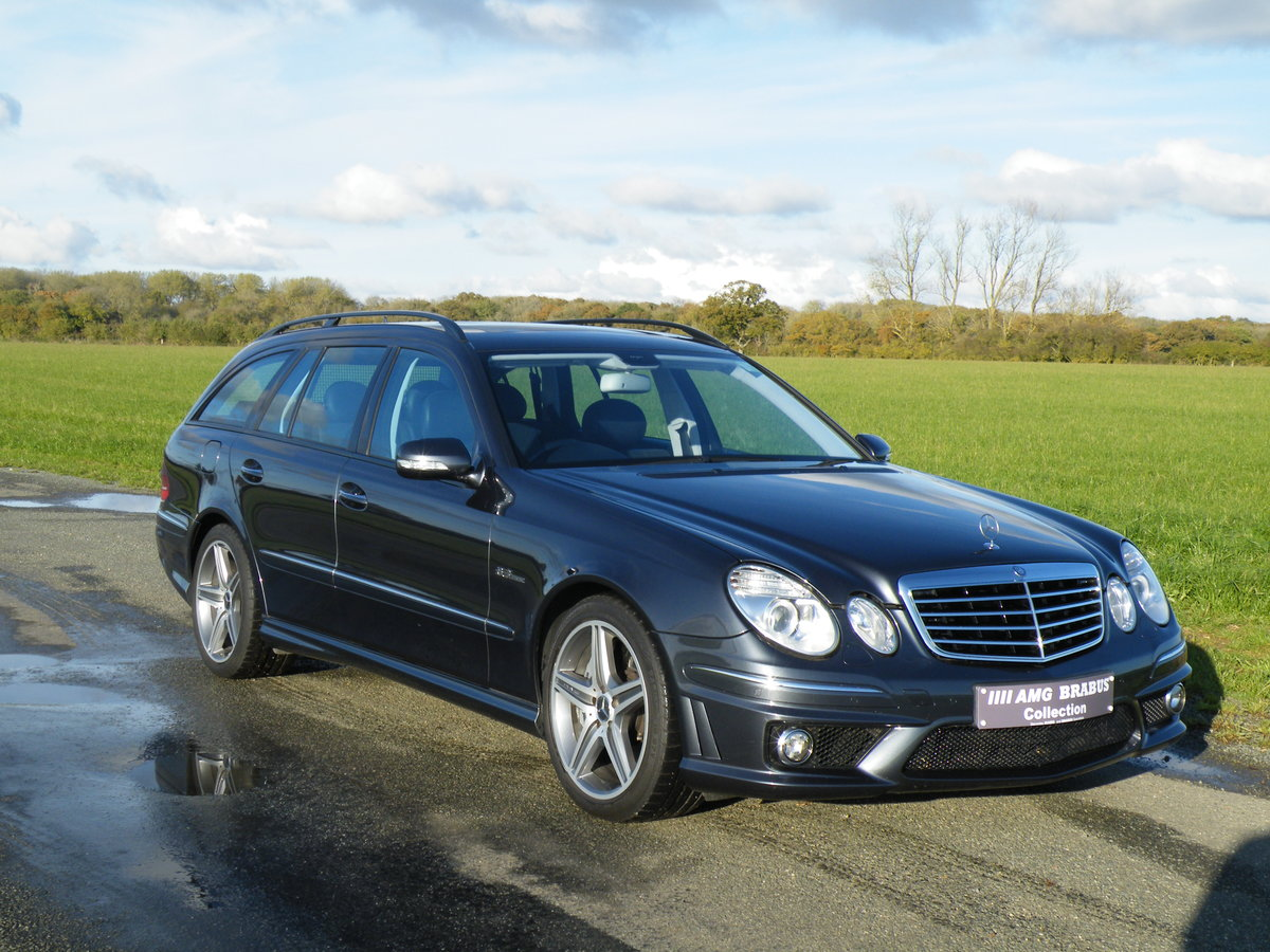 2008 Mercedes E63 AMG Estate For Sale (picture 1 of 6)