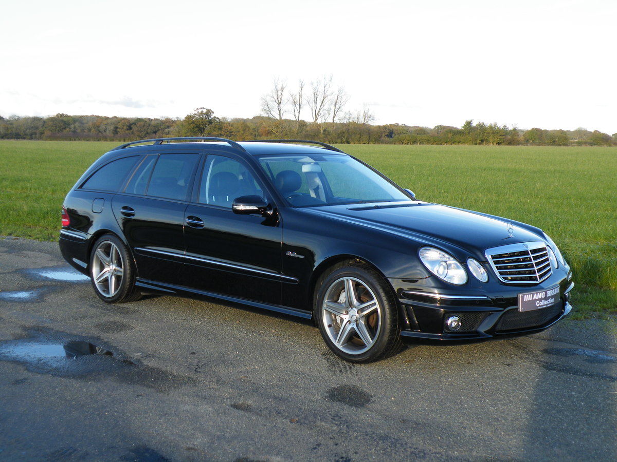 2006 Mercedes E63 AMG Estate For Sale (picture 1 of 6)