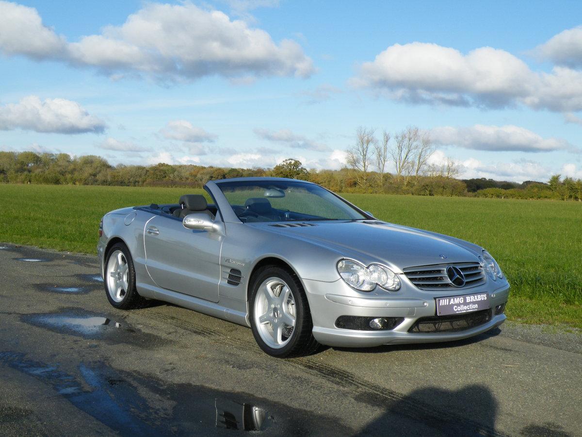 2002 Mercedes SL55 AMG Kompressor  For Sale (picture 1 of 6)