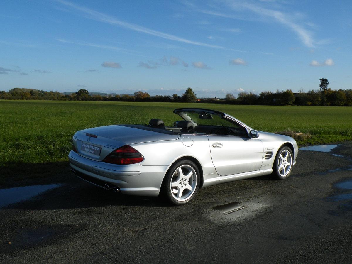 2002 Mercedes SL55 AMG Kompressor  For Sale (picture 4 of 6)