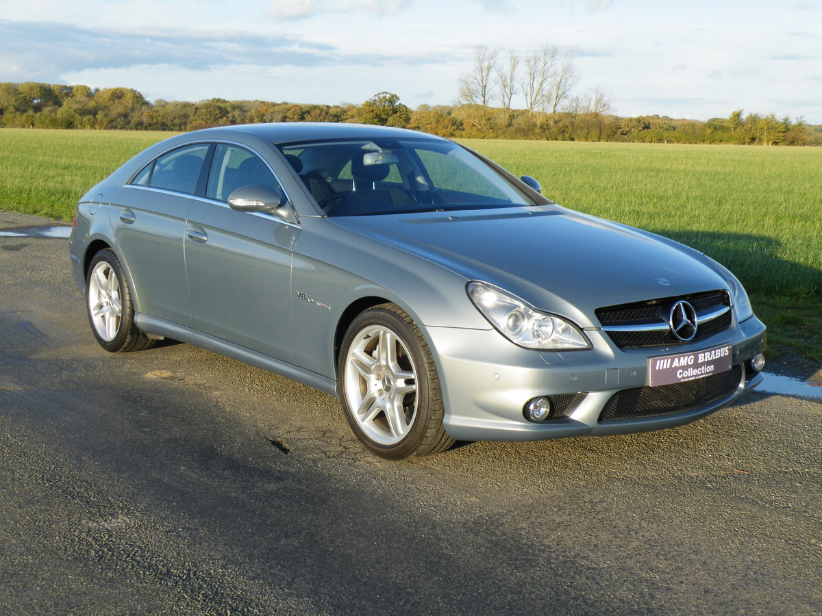 2005 Mercedes CLS 55AMG For Sale (picture 1 of 6)