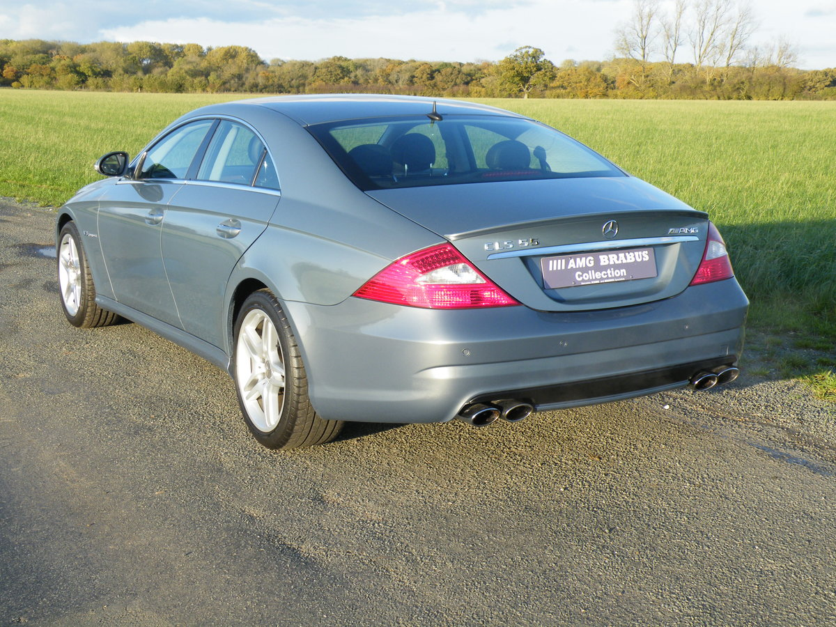 2005 Mercedes CLS 55AMG For Sale (picture 4 of 6)