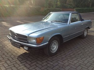 1974 Mercedes 350 SL V8 convertible  For Sale