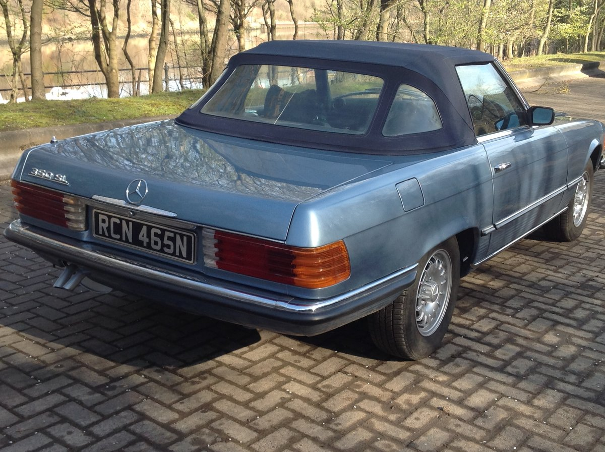 1974 Mercedes 350 SL V8 convertible  For Sale (picture 2 of 6)