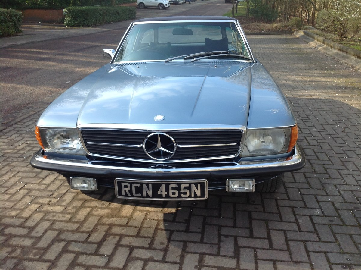 1974 Mercedes 350 SL V8 convertible  For Sale (picture 3 of 6)