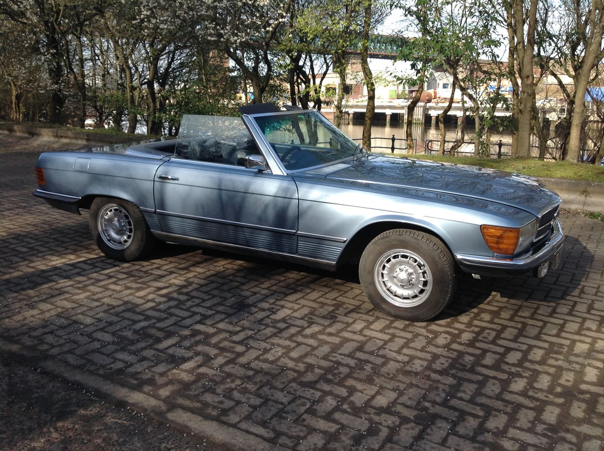 1974 Mercedes 350 SL V8 convertible  For Sale (picture 6 of 6)