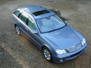 2005 Mercedes C230 SE Kompressor Estate, 1 Owner, For Sale