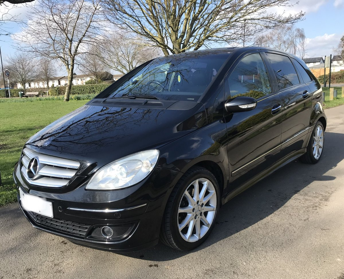 2006 Mercedes Benz B200cdi Sport 5DR Black For Sale (picture 1 of 6)