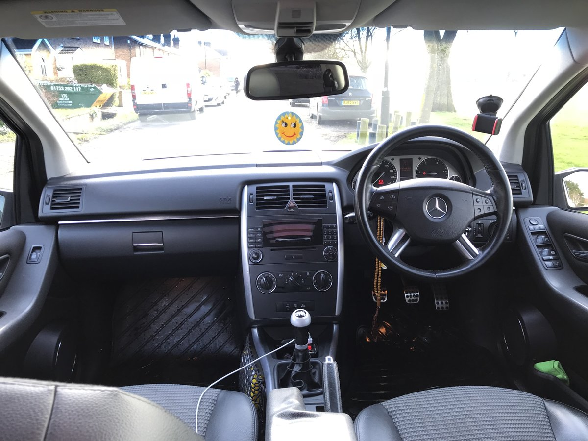 2006 Mercedes Benz B200cdi Sport 5DR Black For Sale (picture 5 of 6)