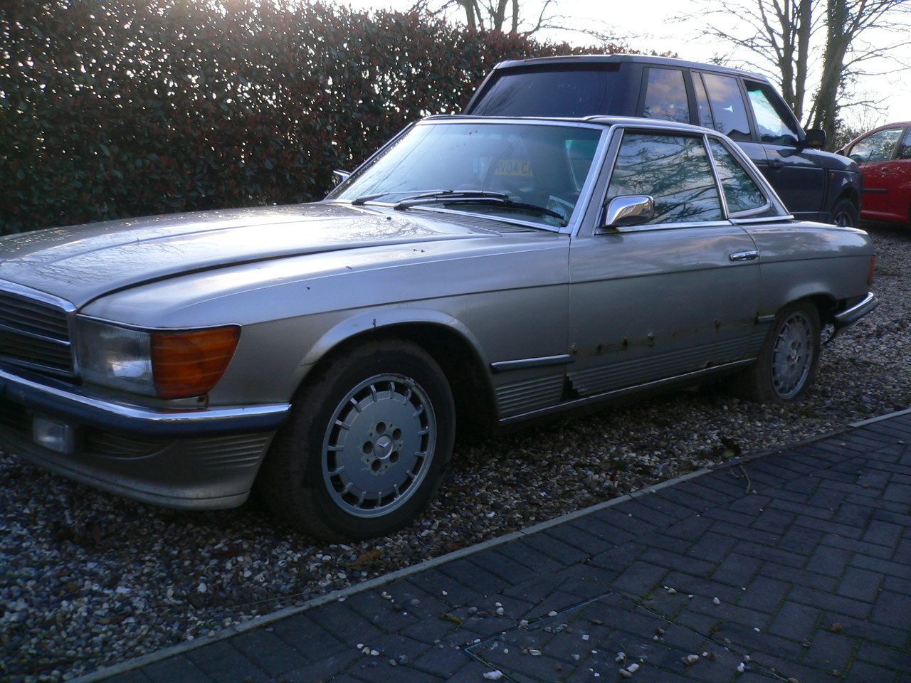 1973 mercedes sl 350 spares or repair  For Sale (picture 1 of 5)