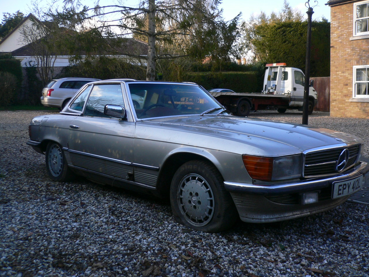 1973 mercedes sl 350 spares or repair  For Sale (picture 2 of 5)