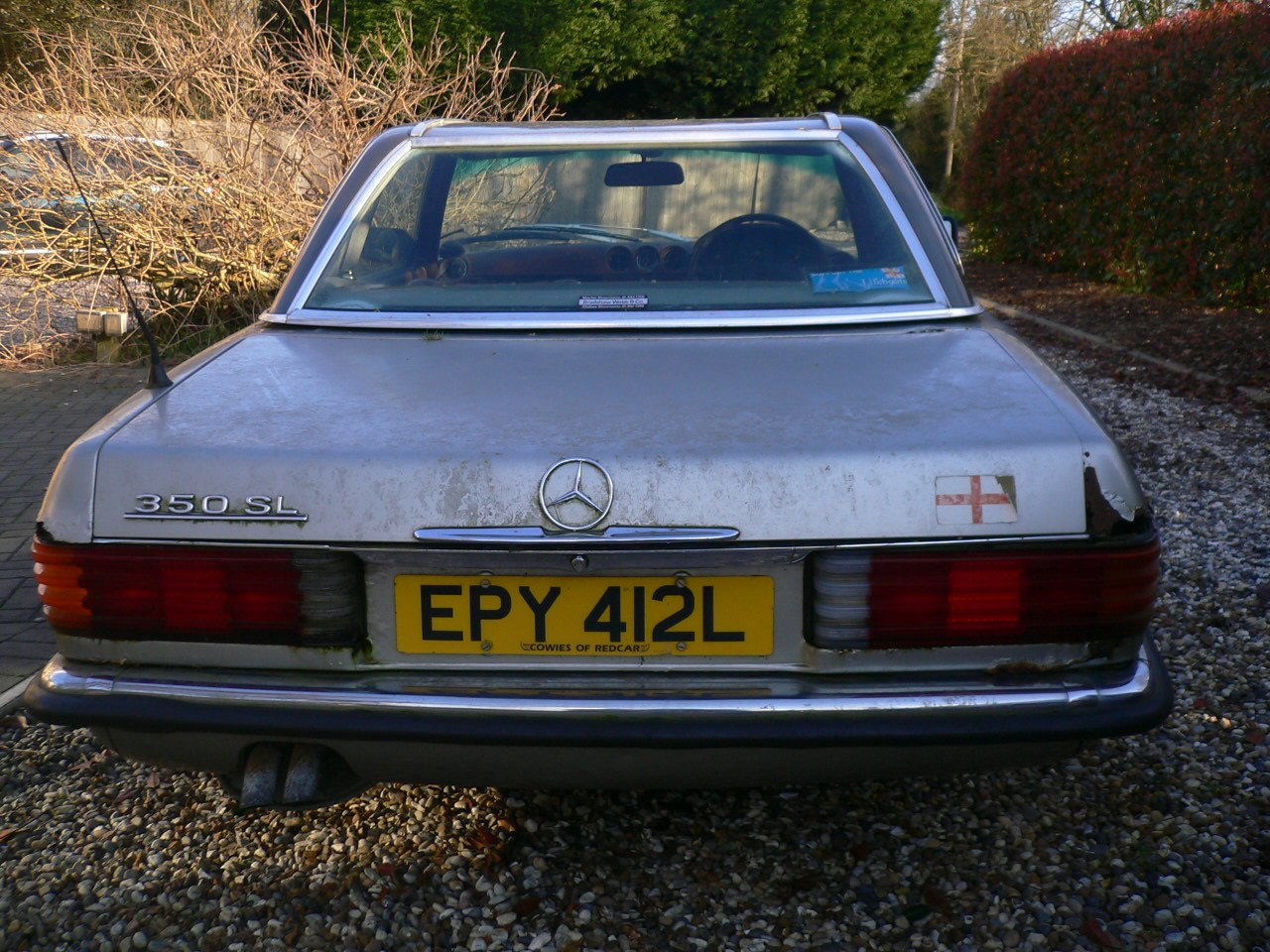 1973 mercedes sl 350 spares or repair  For Sale (picture 4 of 5)
