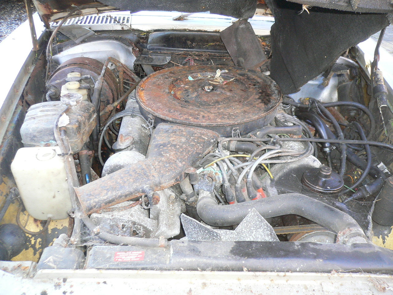 1973 mercedes sl 350 spares or repair  For Sale (picture 5 of 5)