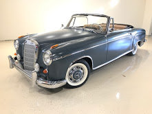 1959 Mercedes s 220 Cabriolet clean driver  $110k usd For Sale