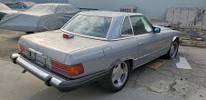 1984 Mercedes 380 sl driver clean Grey(~)Navy  $7.8k usd For Sale (picture 1 of 6)