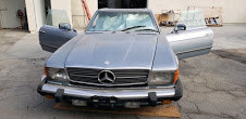 1984 Mercedes 380 sl driver clean Grey(~)Navy  $7.8k usd For Sale (picture 2 of 6)