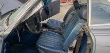 1984 Mercedes 380 sl driver clean Grey(~)Navy  $7.8k usd For Sale (picture 3 of 6)