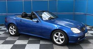 2003 Mercedes SLK200 Kompressor For Sale