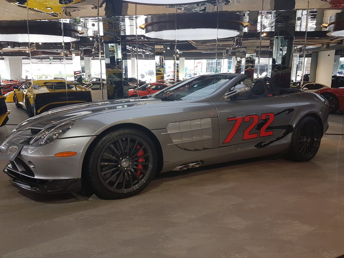 2009 MERCEDES SLR 722S MCLAREN For Sale (picture 4 of 6)