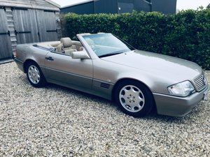 1992 Mercedes 300sl R129 Smoke Silver superb car Immaculate For Sale