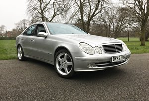 2002 MERCEDES E500 AVANTGARDE