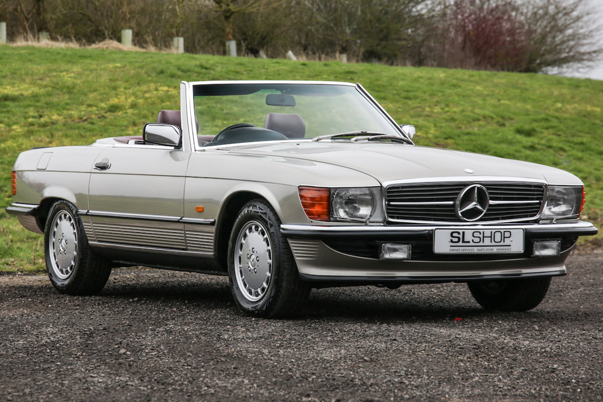 1988 Mercedes-Benz 500SL V8 (R107) Beautiful Red Leather #2194 For Sale (picture 1 of 6)