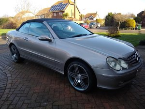 2004 Mercedes CLK 500 Avantgarde Auto for auction 17th July For Sale by Auction
