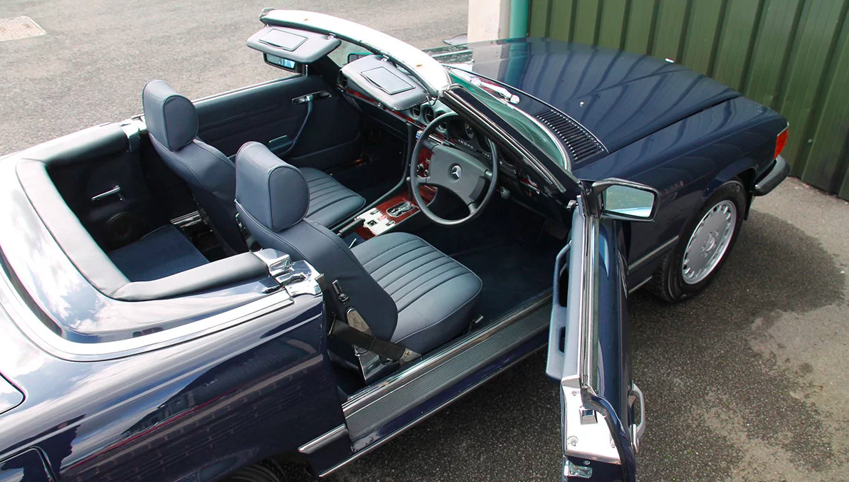 1987 Mercedes-Benz 300SL (R107) #2136 42k miles New Interior For Sale (picture 1 of 4)