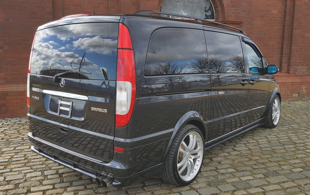 2004 MERCEDES-BENZ VIANO 3.2 LONG WHEEL BASE LWB AMBIENTE BRABUS  For Sale (picture 2 of 5)