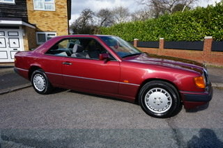 1991 Mercedes-Benz 230CE W124 Coupe, One owner 27 yrs!
