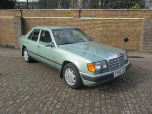 1988 Mercedes 230E saloon auto For Sale