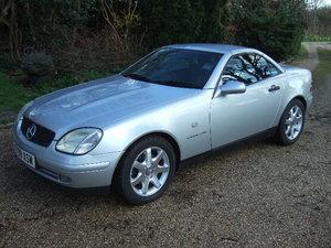 1997 Mercedes SLK230 Kompressor Convertible only 65000 miles For Sale